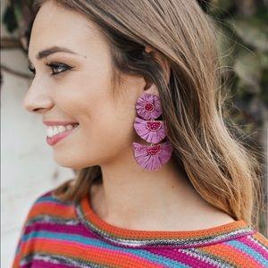 """""""Paris Lights"""" Earrings - Purple NIP"""